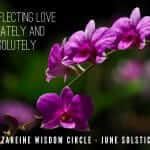 The Nazareine Speaks. 16th June 2016 : Solstice. Continuing Our Theme of Self-Love.