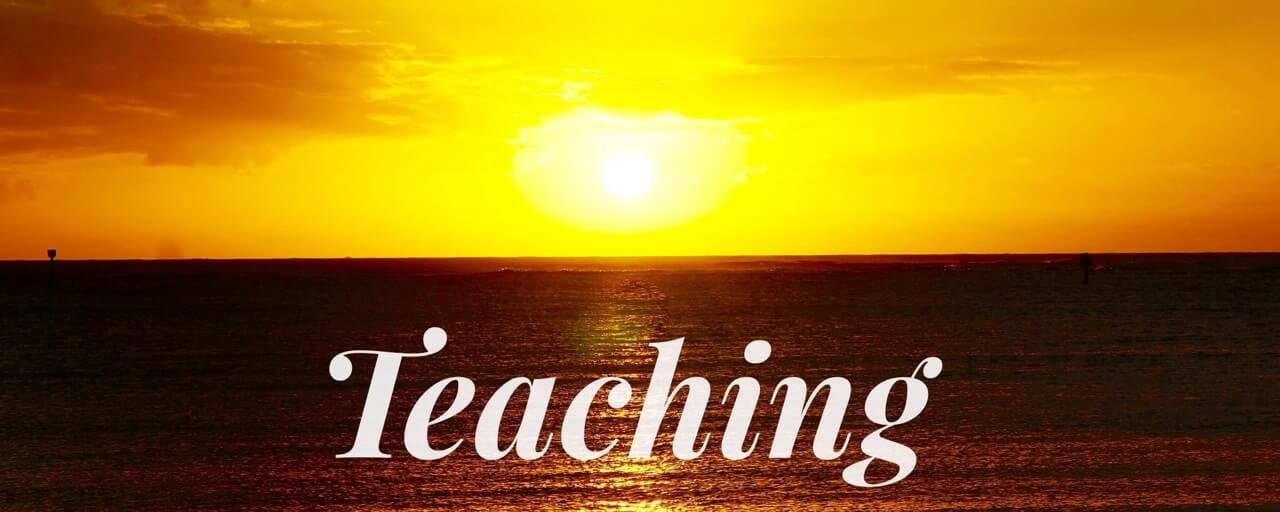Teaching. Introduction to Healing Yourself.