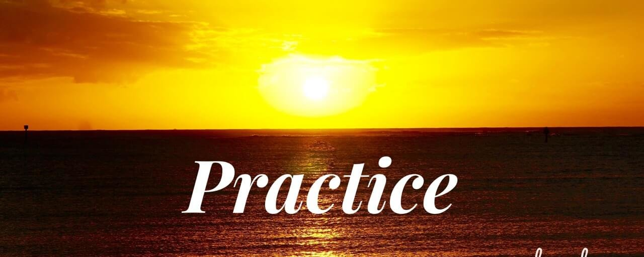 Practice. Introduction to Healing Yourself.