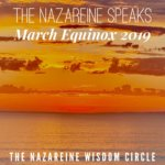 The Nazareine Speaks at Equinox 2019. Open Doors, Closed Minds. No More Feeding into the Illusions of Life (That Do Not Work).